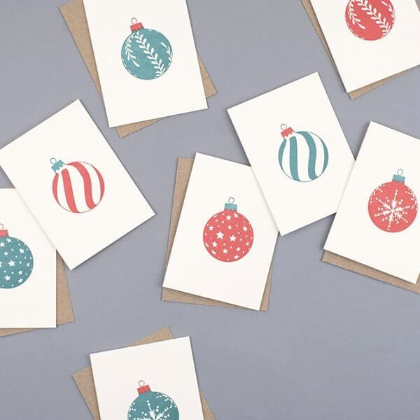Mixed Bauble boxed set