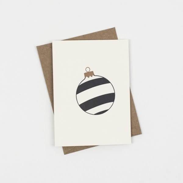 Black Three Stripe