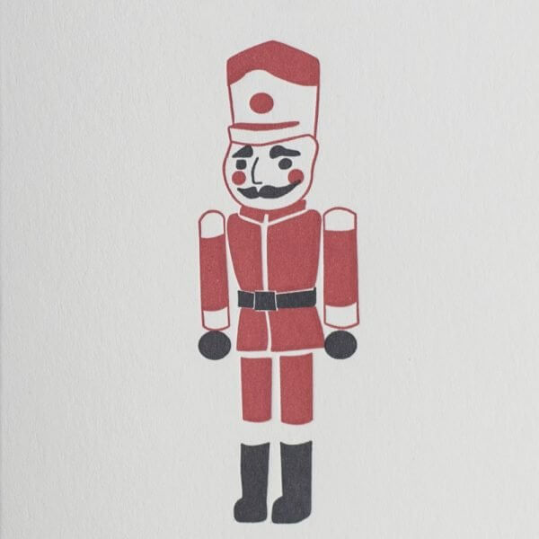 red toy soldier