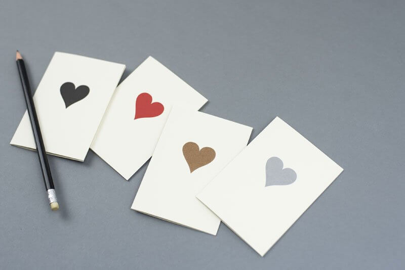 Traditional hearts