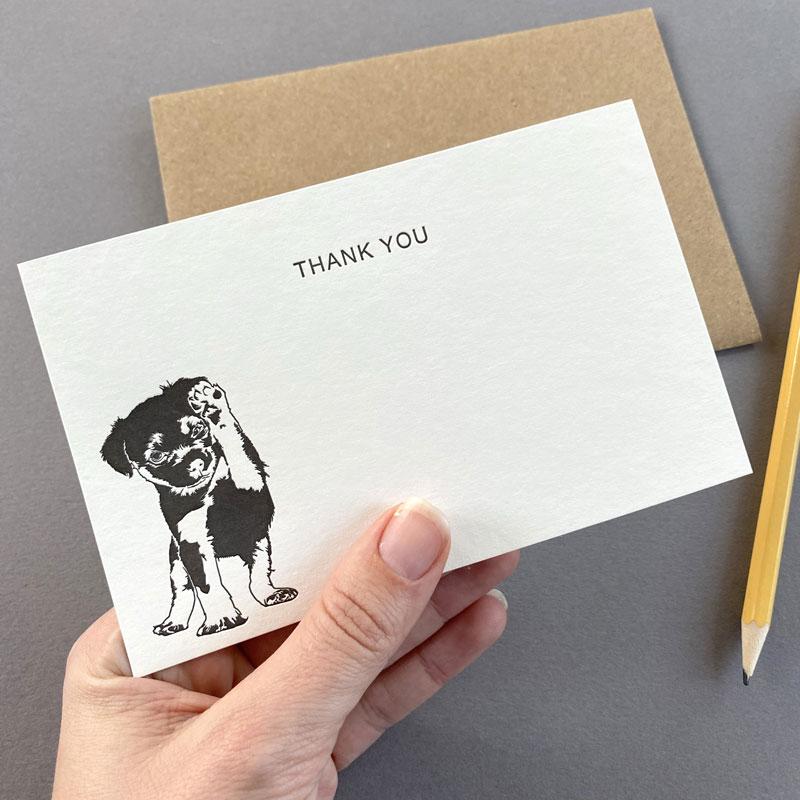 Border Terrier Thank You