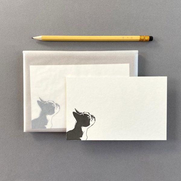 French Bulldog Blank Correspondence Set