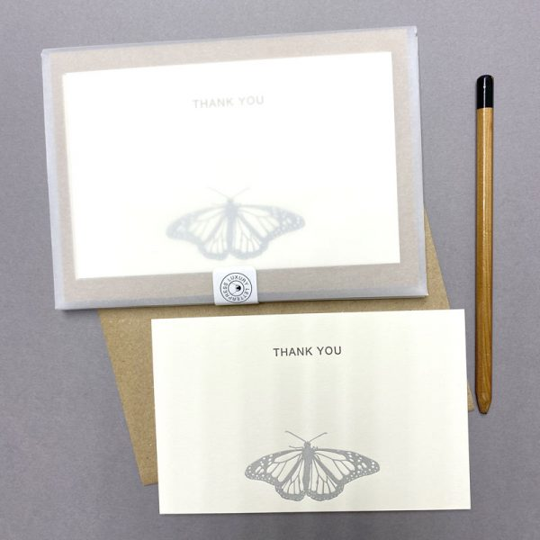 Monarch Butterfly Thank you correspondence