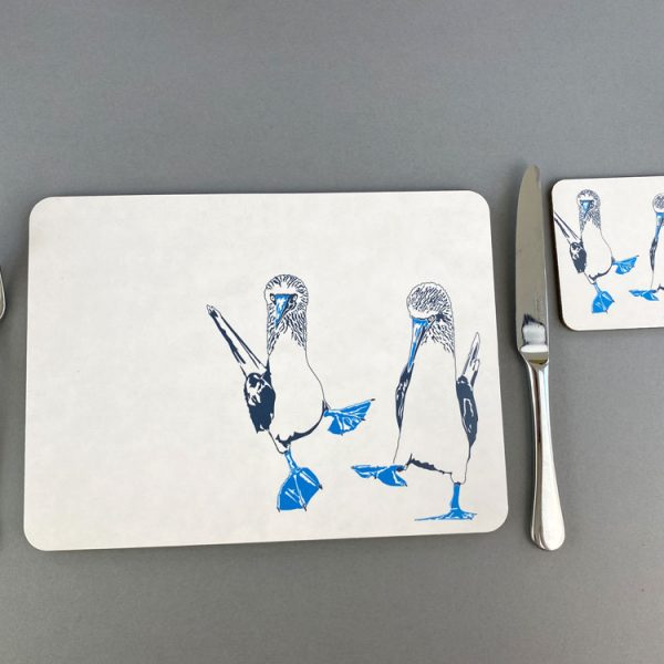 Blue Footed Boobies Placemat