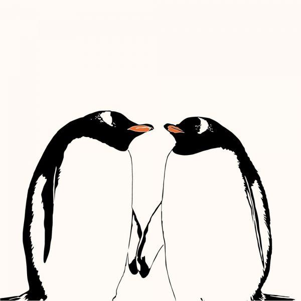 Gentoo Kiss Card